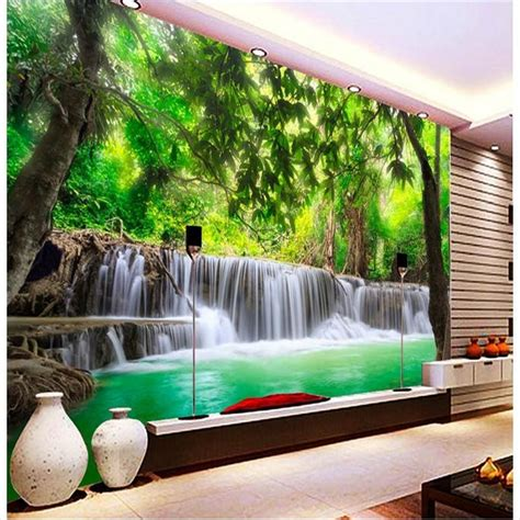affordable wall murals get cheap jungle wallpaper mural aliexpress alibaba