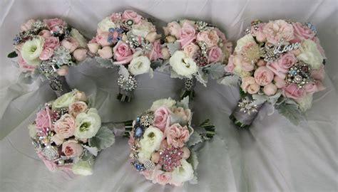 Wedding Bouquet Uk by Brooch Bridal Bouquets Springfield Florist Weddings Essex