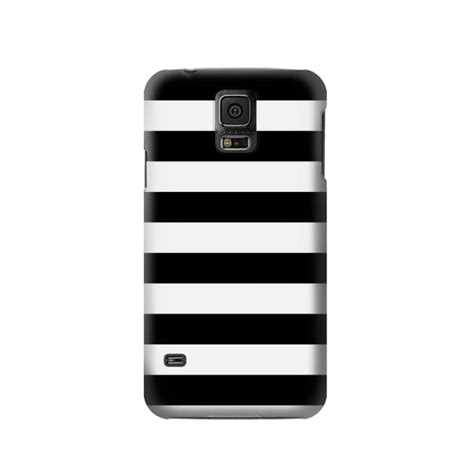 Samsung Galaxy S5 Chelsea Stripe White Cover Casing Hardcase black and white striped samsung galaxy s5 great gs5 limited quantity remaining