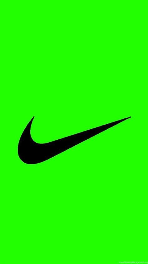 wallpaper nike green bright green nike logo iphone 5 wallpapers 640x1136