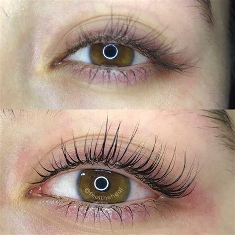 keratin eyelash lift eyelash perm eyelash lift and tint