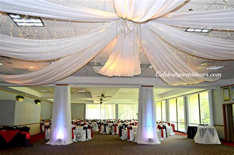 fabric draping for events celebrity event decor banquet hall llc