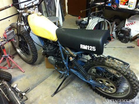 Build A Suzuki 1976 Suzuki Rm125a Bike Showcase Vintagemx Net