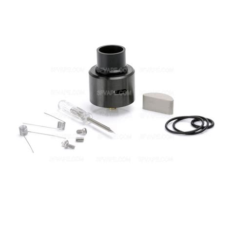 Lsd Le 86 24 Rda Stainless Edition le 86 bf style black rda rebuildable atomizer w bottom