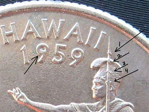 hawaii state quarter errors 4 quarters 2008 hawaii xtra mat and a big error coin