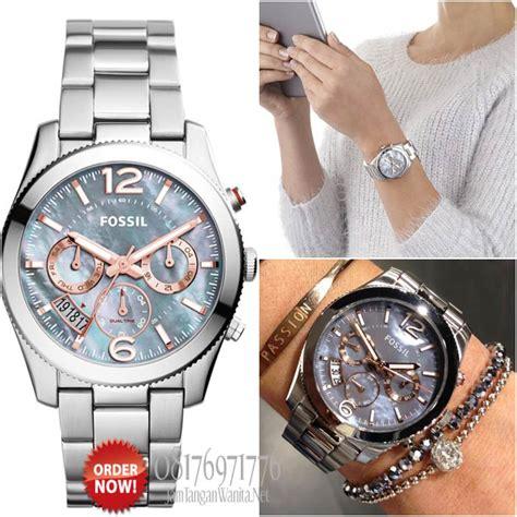 Jam Tangan Wanita Fossil Original Es3885 jam tangan original fossil es3880 katalog jam wanita