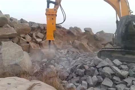 hydraulic rock breaker hammer   mm chisel