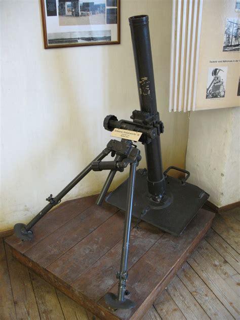 Mortar Diameter 8 Cm 8 cm granatwerfer 34
