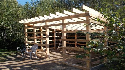 update   wood shed build   home  lumber