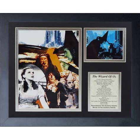 legends  die wizard  oz collage framed memorabili