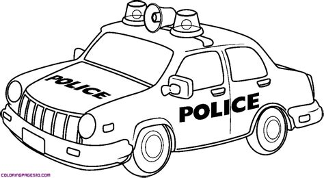 coloring pages of cop cars a police car for coloring