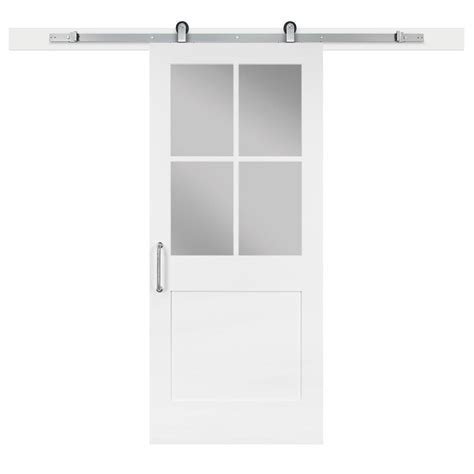 jeff lewis barn doors pinecroft 36 in x 84 in millbrooke white h style rta pvc