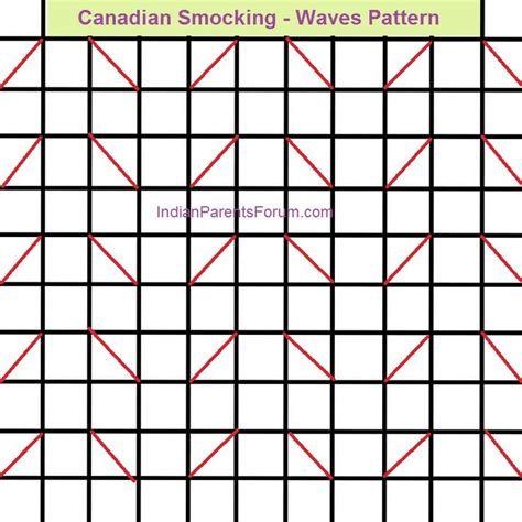 grid pattern for matrix design of canadian smocking 155 best canadian smocking tutorial images on pinterest