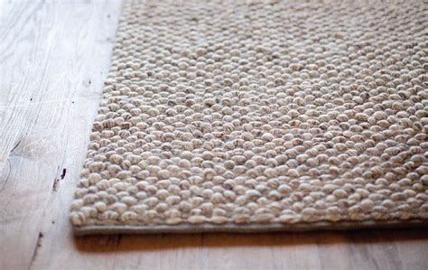 knotted wool rugs thick knotted wool rug beige modern by linie scandinavian area rugs by plush pod decor