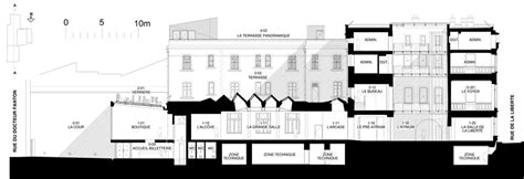 van gogh museum floor plan light of the south fondation van gogh in arles detail