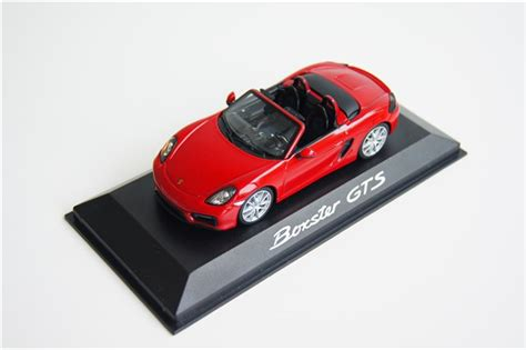 Porsche Boxster Teile by Teile Porsche Boxster Gts 981 1 43 New