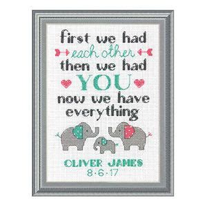 Counted Cross Stitch Kits Birth Record 25 Best Ideas About Elephant Cross Stitch On Cross Stitch Baby Cross