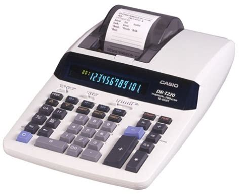 Desk Top Calculator by Buy Casio Dr 140tm 14 Digit Desktop Printing Calculator