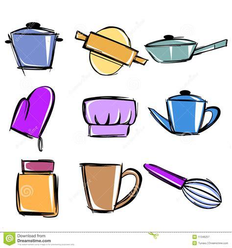 dibujos infantiles utensilios de cocina utensilios de cocina ilustraci 243 n del vector ilustraci 243 n