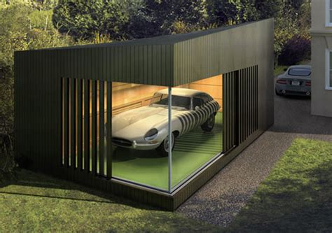 Autospace Modern Garage Modern Garage Showroom And