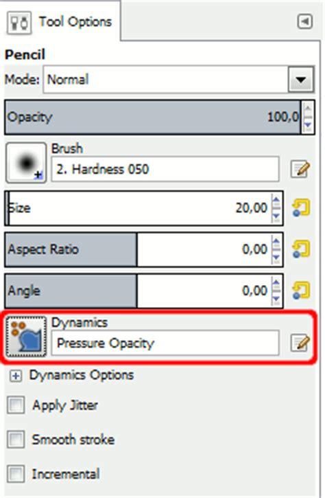 gimp reset tool options 3 paint tools