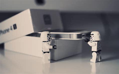 Lego Star Wars para iPhone 4 Unboxing fondos de pantalla