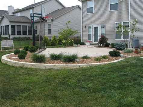 small basketball court in backyard dream backyard basketball court flickr photo sharing