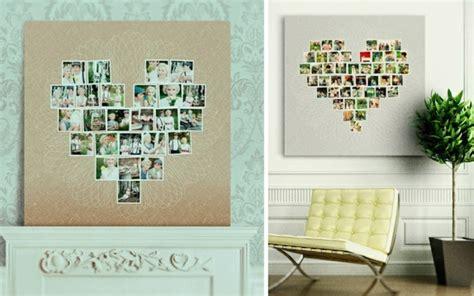 Herz Aus Fotos An Der Wand Machen 287 by 100 Fotocollagen Erstellen Fotos Auf Leinwand Selber Machen