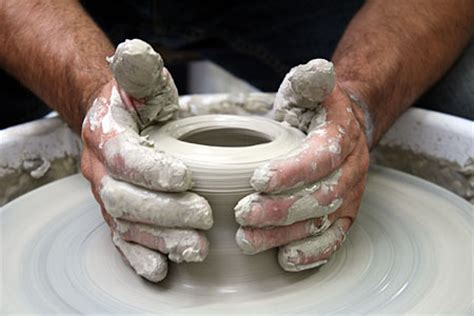 throwing a pot pottery july 13th 2009 2009 events art group