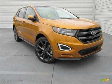 2015 ford edge colors 2015 electric spice metallic ford edge sport 104775085