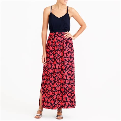 J 58364 Rosa Maxi 58 j crew dresses skirts maxi dress with printed skirt from rosa s closet on