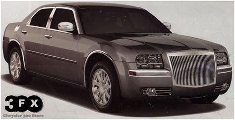 Chrysler 300 Custom Parts by Chrysler 300 Accessories 300fx