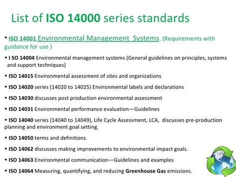 iso 14062 design for environment iso 14001