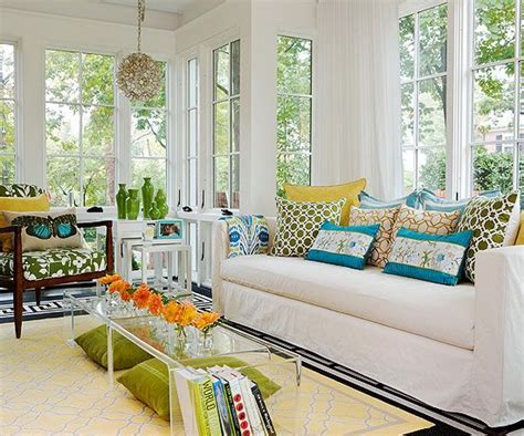 Better Homes Sunrooms Easily Update Any Space With Patterned Pillows Throws Or