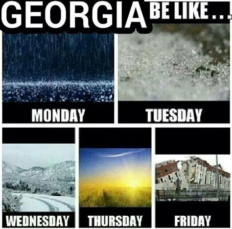 Atlanta Snow Meme - pin by papa johns athens on laughter is the best medicine