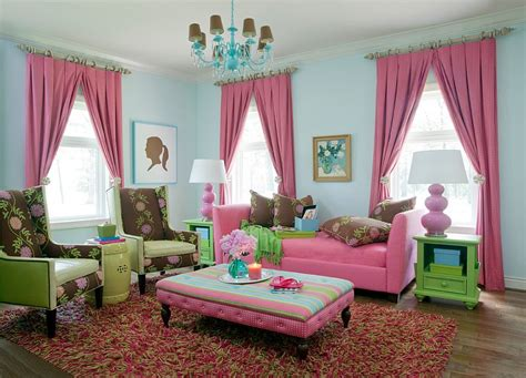 green and pink living room ideas 20 and cheerful pink living rooms