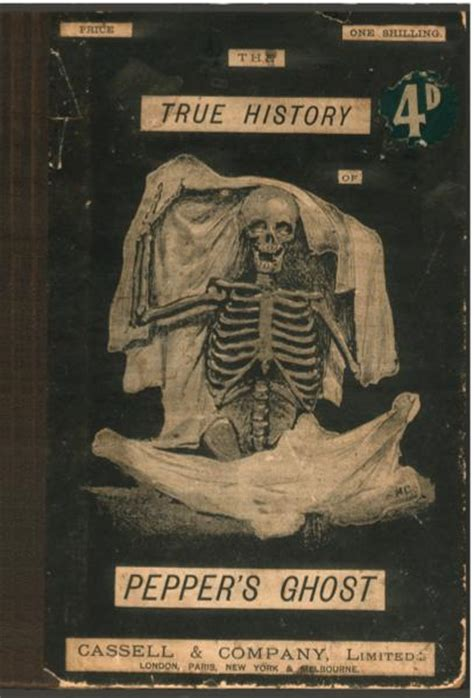 ghosts a haunted history books the true history of pepper s ghost by henry pepper