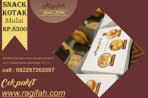 Snack Enak Freetela 4 ragifah snack box enak bekasi whatsapp 082297262097 snack box bekasi pilihan aneka kue snack
