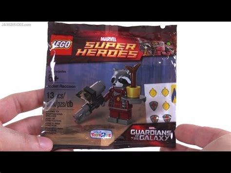 Lego Marvel Heroes 5002145 Rocket Raccoon lego marvel heroes rocket raccoon polybag review 5002145
