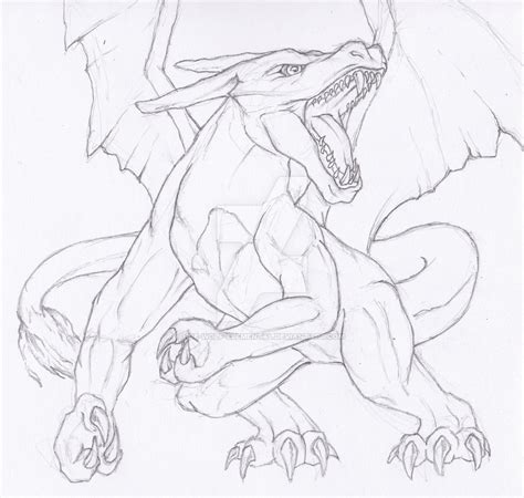 realistic pokemon coloring pages semi realistic pokemon charizard by ice wolf elemental on
