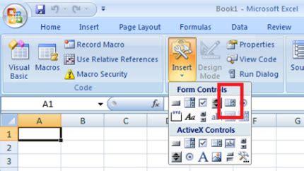 excel 2010 listbox tutorial cara membuat list box di lembar kerja excel tutorial ms