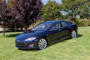 Tesla Blue Tesla Model S Now Available With Executive Rear Seats