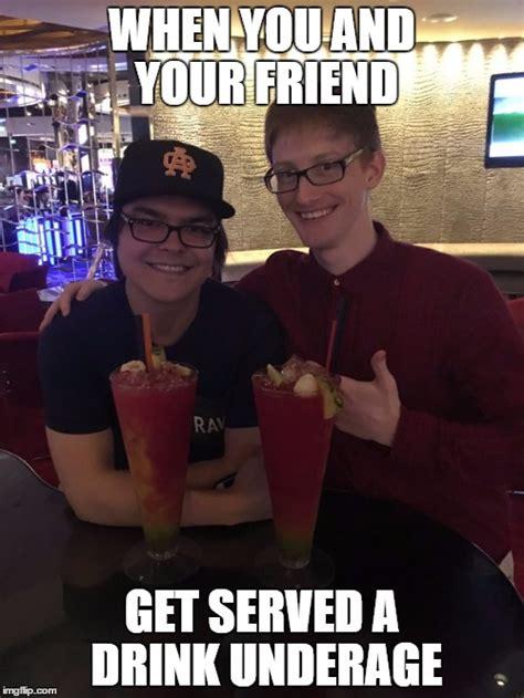 Underage Drinking Meme - scump underage imgflip
