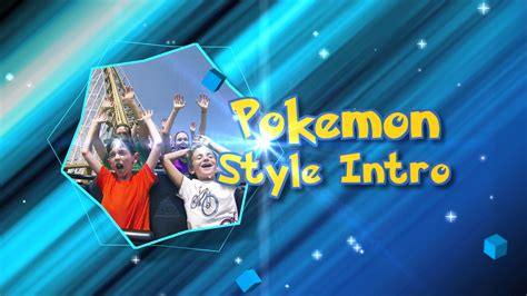 Pokemon Style Intro After Effects Template Cut Pro Intro Templates