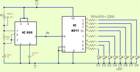 Led Chaser Circuit Diagram 26 Wiring Diagram Images