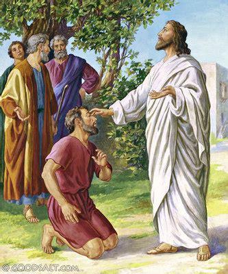 God Heals The Blind Man Yesus Menyembuhkan Seorang Buta Dekat Yerikho Sang Sabda
