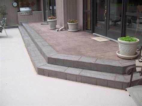 walkway concrete resurfacing traditional patio