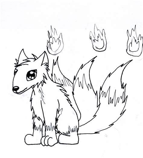 chibi fox coloring pages chibi fox by kungfudemoness on deviantart