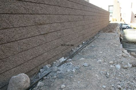 decorative concrete walls block walls artcon inc las vegas concrete