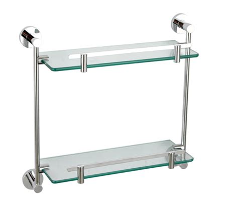 Bathroom Accessories Glass Shelf Wall Mounted Glass Shelf 8102 Bathroom Glass Shelf By Sanliv Bathroom Accessories